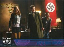Doctor Who Timeless Blue Parallel [##/99] Base Card #80 Let's Kill Hitler