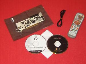 TERRATEC CINERGY S2 PCI HD INTERNE TV-KARTE DVB-S2 DVB-S FERNBEDIENUNG EMPFÄNGER