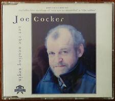 Joe Cocker Let the Healing Begin CD single 72438818720  – Mint