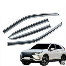 Window Visors for Mitsubishi Eclipse Cross / Deflector Rain Guard Vent Shade (Fits: Mitsubishi)