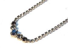 Bijou alliage argenté strass Satellite necklace