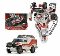 TRANSFORMERS DESERT TRACKER RESCUE RATCHET AMBULANCE VOYAGER ACTION FIGURES TOY