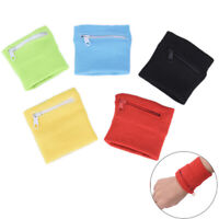 Zipper Wrist Wallet Pouch Running Sports Arm Band Bag For Key Card Storage Ba UP