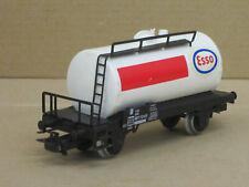"""Tankwagen / Tankwaggon, weiß """"ESSO"""", Märklin, 1:87 / HO, no OVP, altes Modell"""