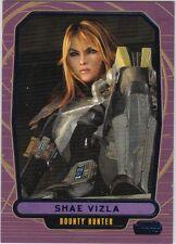 STAR WARS GALACTIC FILES SERIES 2 BLUE PARALLEL #548 SHAE VIZLA 176/350