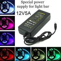 12V5A Einschalten Netzteil LEDLeuchten Spezielle Stromversorgung Für Lichtleiste
