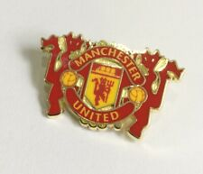 MANCHESTER UNITED Football Club FC Badge Enamel Supporters UTD MUFC Pin 18