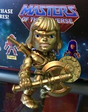 RARE! Gold He-Man Loyal Subjects Masters Of The Universe Custom