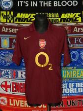 5/5 Arsenal adults XL 2005 Highbury original football shirt jersey trikot .,