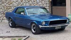 Ford Mustang 302 Coupe Blue