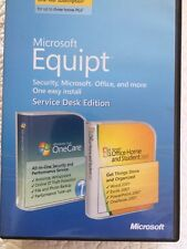 Microsoft Equipt with Office, Home and Student 2007 and OneCare Protection