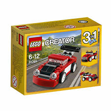Car Red LEGO Construction & Building Toys