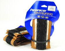 2-PACK Panaracer GravelKing SK 700 x 32 Bike Gravel King CX Folding Tire,TAN