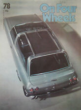 On Four Wheels magazine Issue 78 featuring Land Rover cutaway drawing, Ogle