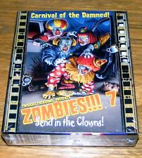 Zombies!!! 7 Expansion Send in The Clowns! Carnival of The Damned New, Sealed!