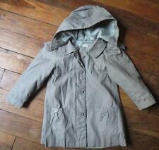 Manteau avec capuche blouson trench 3 ans / 4 ans idéal mi-saison VERTBAUDET
