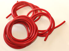 Silicone Vacuum Hose Kit - 4mm 5mm 6mm - 15ft of each - 3 strands - Red