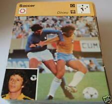 Dirceu-Football Carte de collection