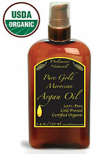 Real Virgin Moroccan ORGANIC ARGAN OIL Anti Aging Gives You Great Hair Skin Days