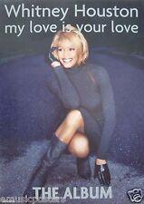"Whitney Houston ""My Love Is Your Love-The Album"" U.K. Promo Poster"