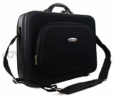 """High Quality 15"""" 17"""" Laptop Business Work Pilot Bag Case Briefcase Hand Luggage"""
