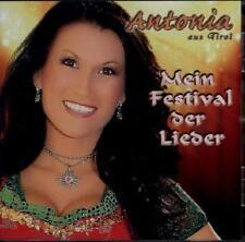 Antonia da Tirolo-il mio Festival delle canzoni-CD NUOVO