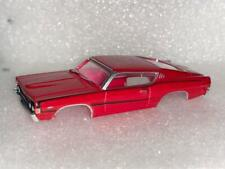 AUTO WORLD '68 FORD RED TORINO GT TJET SLOT CAR BODY
