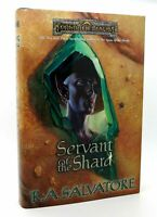 R.A. Salvatore SERVANT OF THE SHARD  1st Edition 1st Printing