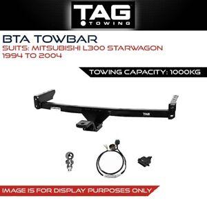 Tag Towbar Fits Mitsubishi L300 Starwagon 1994 - 2004 Towing Capacity 1000Kg 4x4