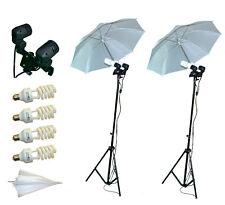 Set Fotostudio wie abgebildet Stativ 45 W Fotolampen Schirme Fotolampen Photo a