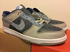 Nike Dunk Low LTD 2003 Size 12 Navy Blue/Cascade Blue DEADSTOCK Faux Denim
