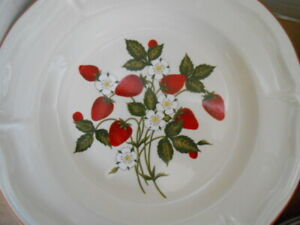 Strawberry Dinnerware by Gibson 4 place settings