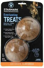 Starmark Everlasting Dog Treats Chicken, Vanilla Mint, Liver, Bbq Large