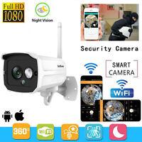 Wireless 1080P NVR Outdoor IR WIFI Camera CCTV Smart Home Security System Video