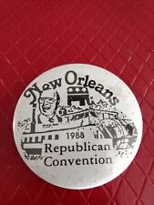 1988 Republican National Convention Button