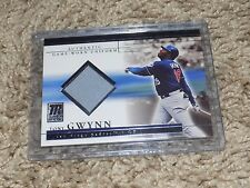 2002 Topps Reserve Tony Gwynn Game Used Jersey Card