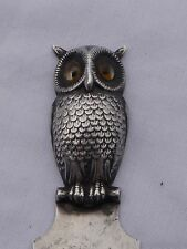 Sampson Mordan Silver Owl Bookmark
