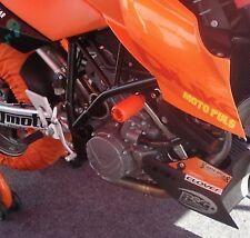R&G RACING Crash Protectors(upper), KTM 990/990R Super Duke & 990SM 2008- ORANGE