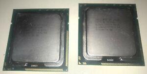 2x processeurs INTEL XEON X5687 cache 12 Mo 6.40 GT/s  Sockets FCLGA1366