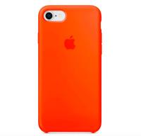 iPhone 8 / 7 / SE 2020 4.7″ Apple Echt Original Silikon Schutz Hülle - Orange
