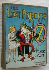 Wizard of Oz - The Lost Princess of Oz - L Frank Baum 1913 - Reilly & Lee Neill