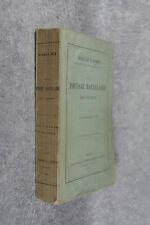 SEE GERMAIN. DE LA PHTISIE BACILLAIRE DES POUMONS. 1884.