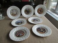 COALPORT CHRISTMAS PLATES SELECTION