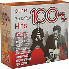 100& PURE ROCK'N'ROLL HITS - 5 CD
