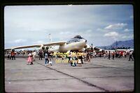 c.1959 USAF Boeing B-47 Stratojet Aircraft at Kirtland AFB, Original Slide d16a