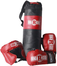 Ringside Youth Kids Boxing Kit Training Bag Set Punching Bag Gloves Heavy Bag Bu