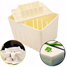 MENGCORE DIY tofu machine Tofu Maker Press Mold Kit + Cheese Cloth Soy DIY Press