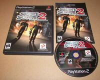 Silent Scope 2: Dark Silhouette for Playstation 2 PS2 Complete Fast Shipping