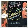 """OPUS Vinyl 45 tours 7"""" SP LIVE IS LIFE - UP AND DOWN -CARRERE 13761 Frais Rèduit"""