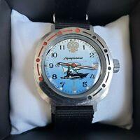 Wrist Watch Komandirskie Admiralskie Soviet USSR Vostok